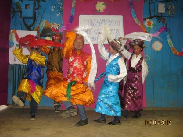 2012: Farewell, Bhutia dance