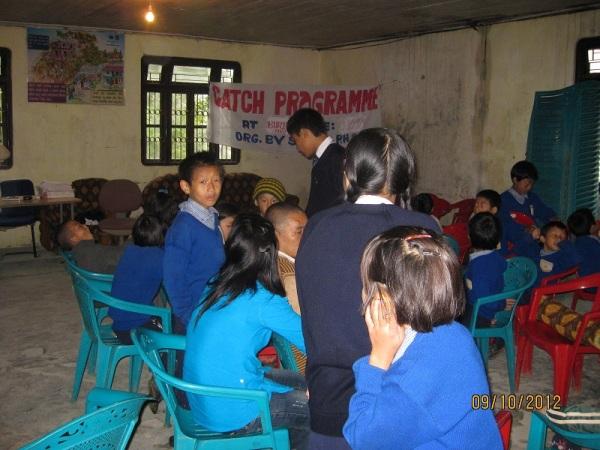 2012: SHA children at the Health Centre