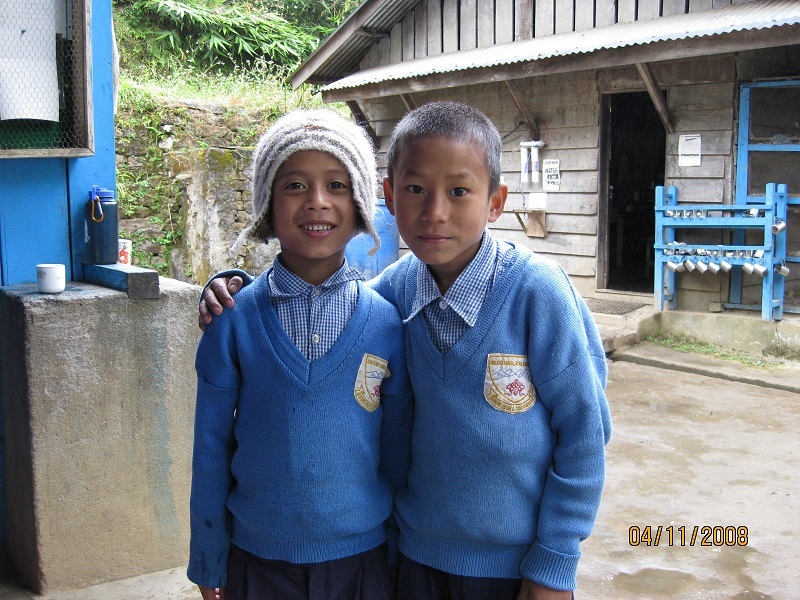 2008: Friends at Sikkim Himalayan Academy