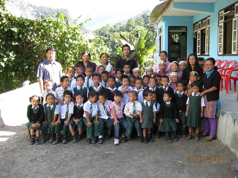 2008: Principal Loden and Mayel Lyang Academy