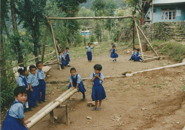 2003: Equipment made by volunteers