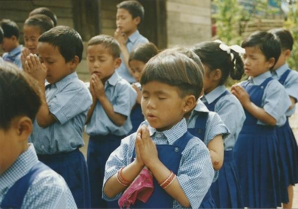 2003: Morning prayers