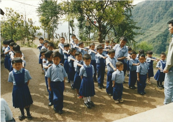 2003: Assembly at Sikkim Himalayan Academy