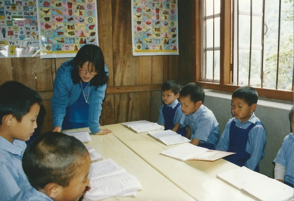 2003: Lessons at Sikkim Himalayan Academy