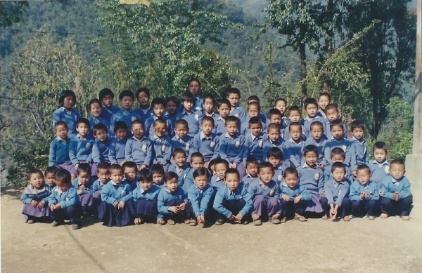 2005: The children of Sikkim Himalayan Academy