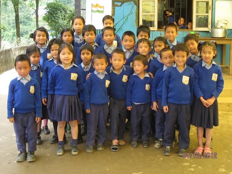 2012: UK sponsored children at SHA