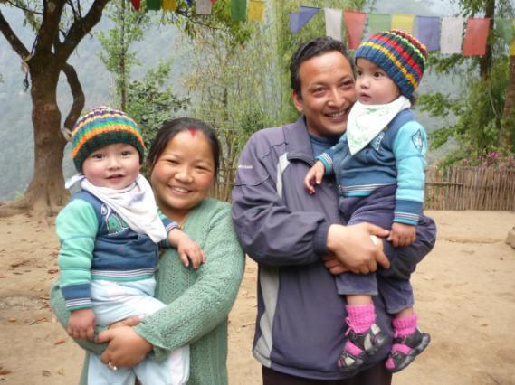 2013: GS and family, SHA principal