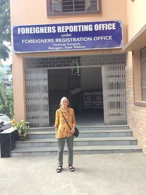 2017: Registration of Inner Line Permits on entering Sikkim