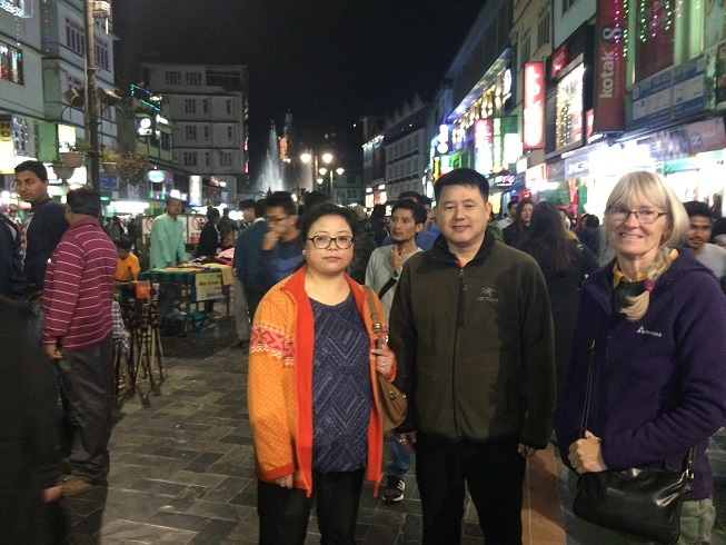 2017: Magi meets up with Loden and Nimkit in Gangtok