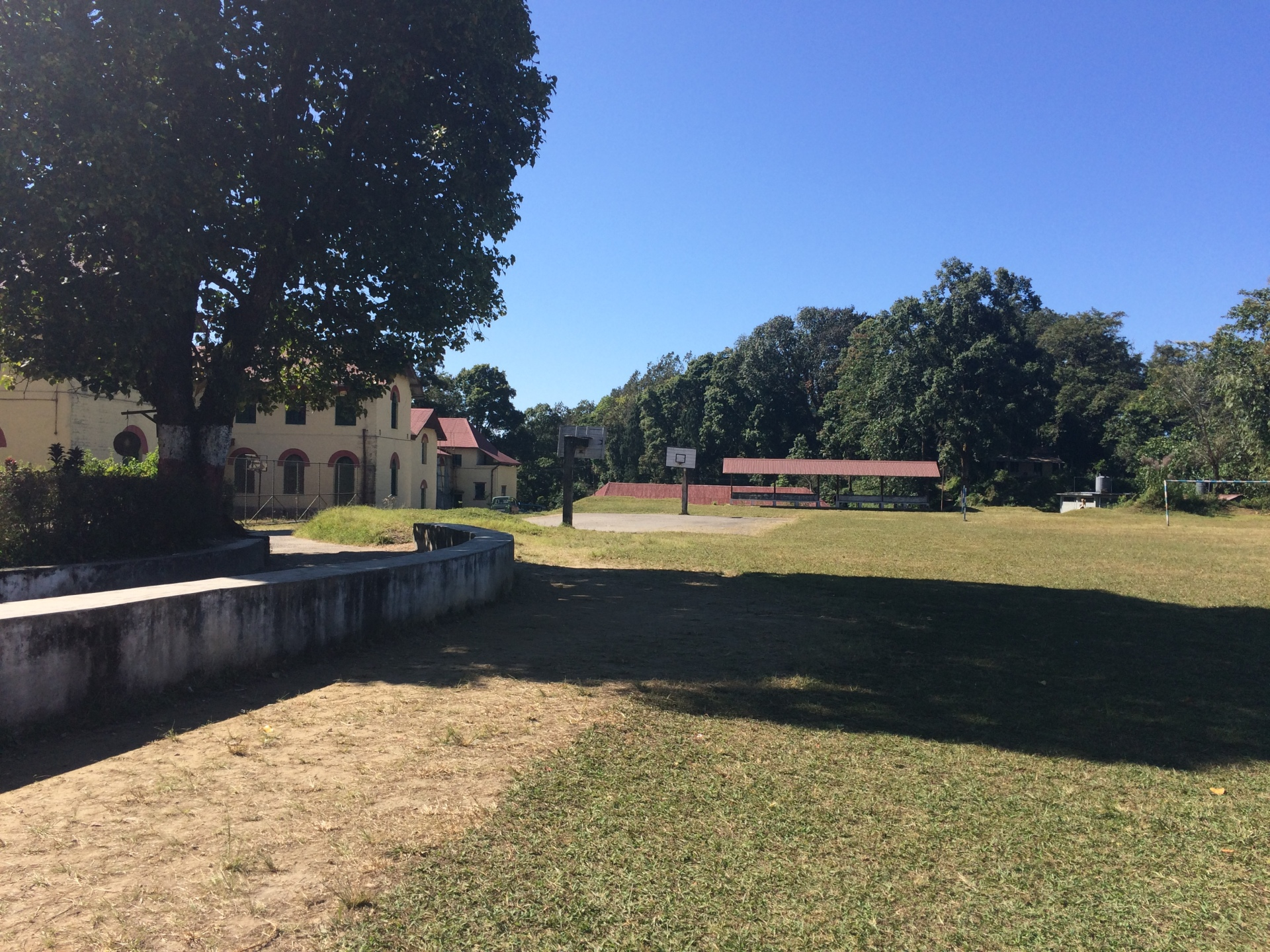 2017: The campus at Dr Graham's Homes school, Kalimpong