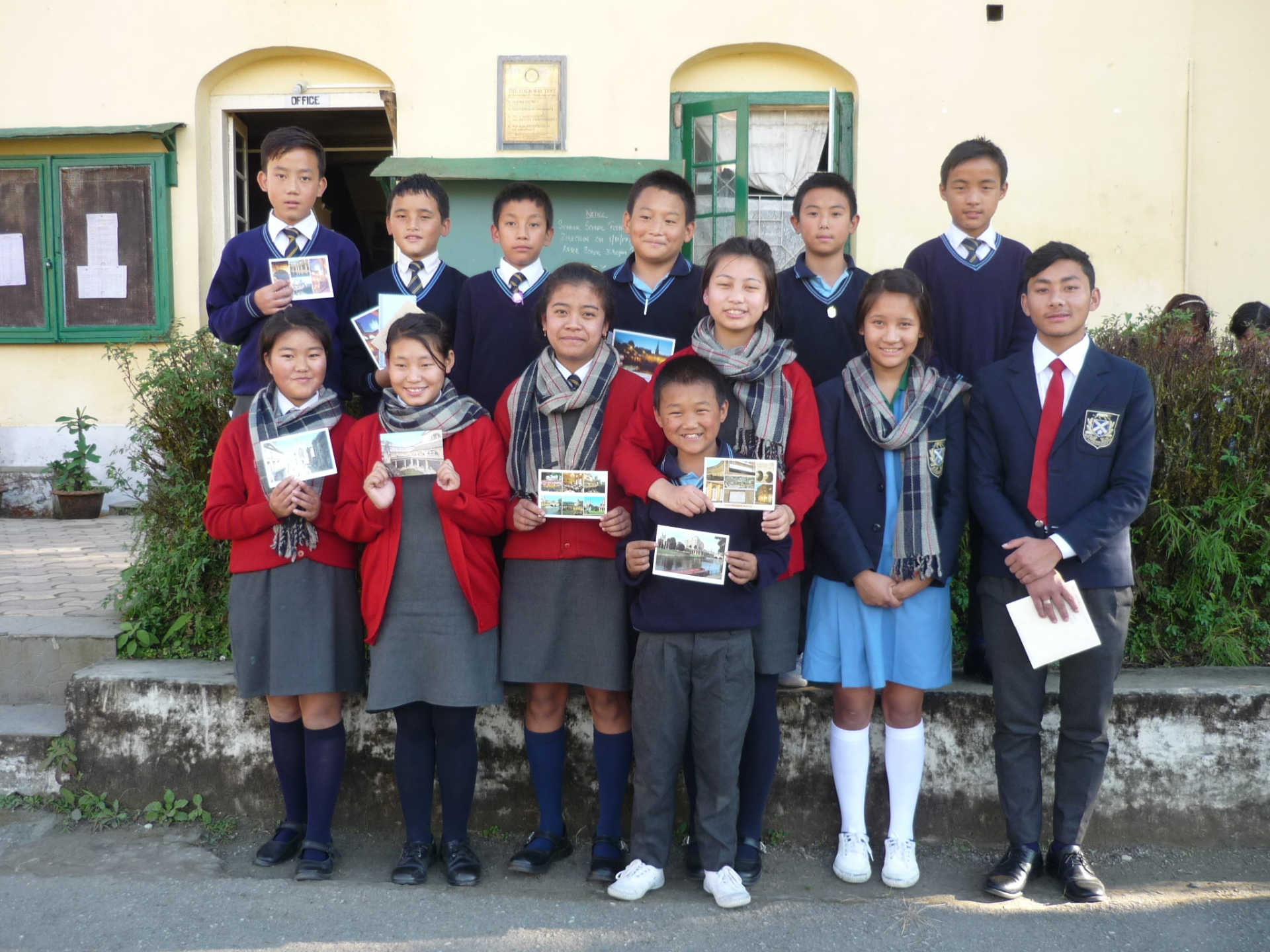 2017: The pupils at Dr Graham's Homes