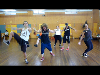 Krump Workshop with Yolanda