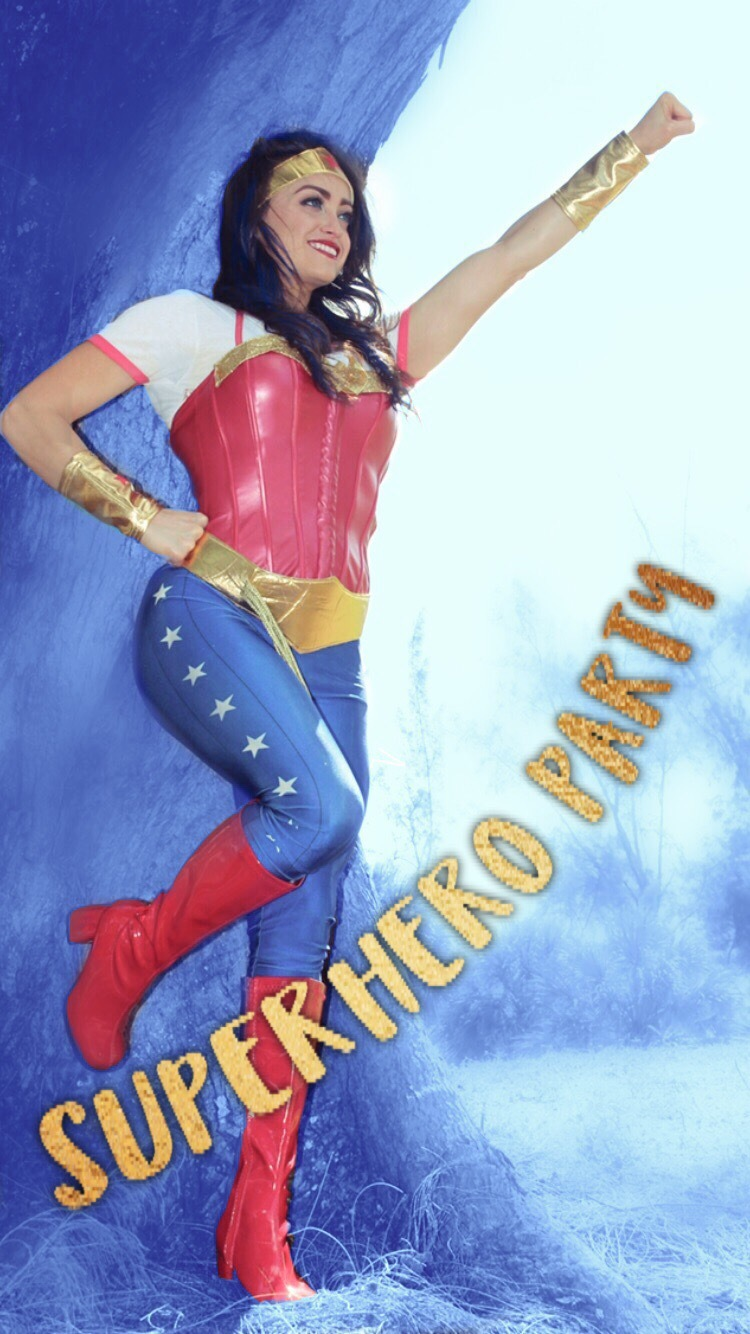 super hero wonder girl