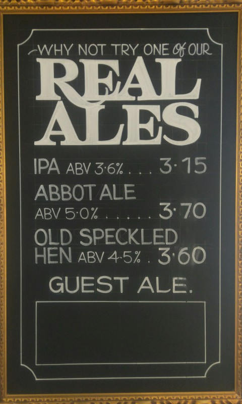Real Ales, Lagers & Ciders