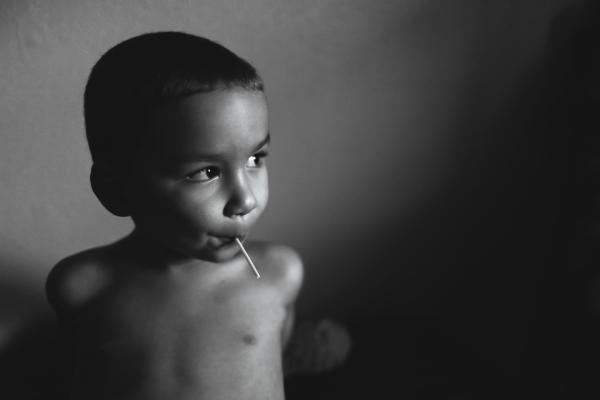 Black & White of my little man