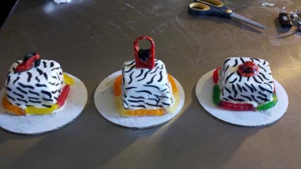 Mini Fashionista Cakes