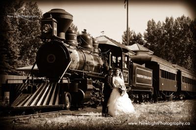 Fort Edmonton Wedding Photos