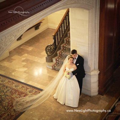 Wedding Photos at Fairmont Hotel MacDonald