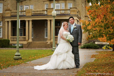 Government House Wedding Photo