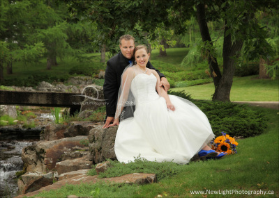 Wedding Photos at Devonian Gardens