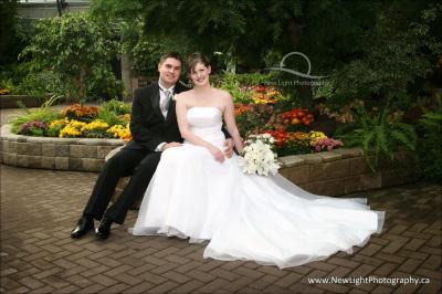 Wedding Photos at Muttart Conservatory