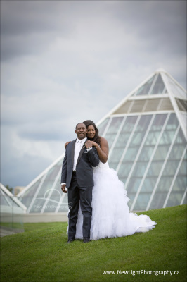 Wedding Photography at Muttart Conservatory