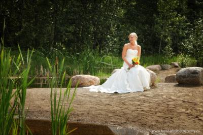 Wedding at John Janzen Nature Center
