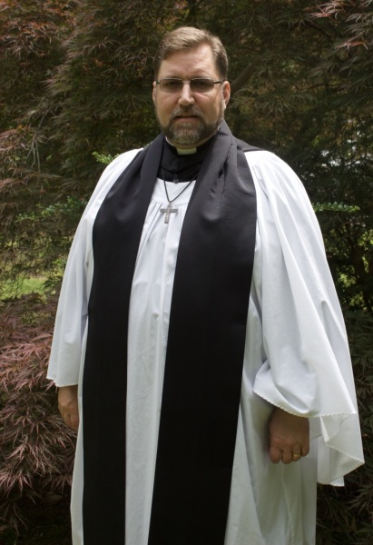 Choir Dress (cassock, surplice, tippet and hood)