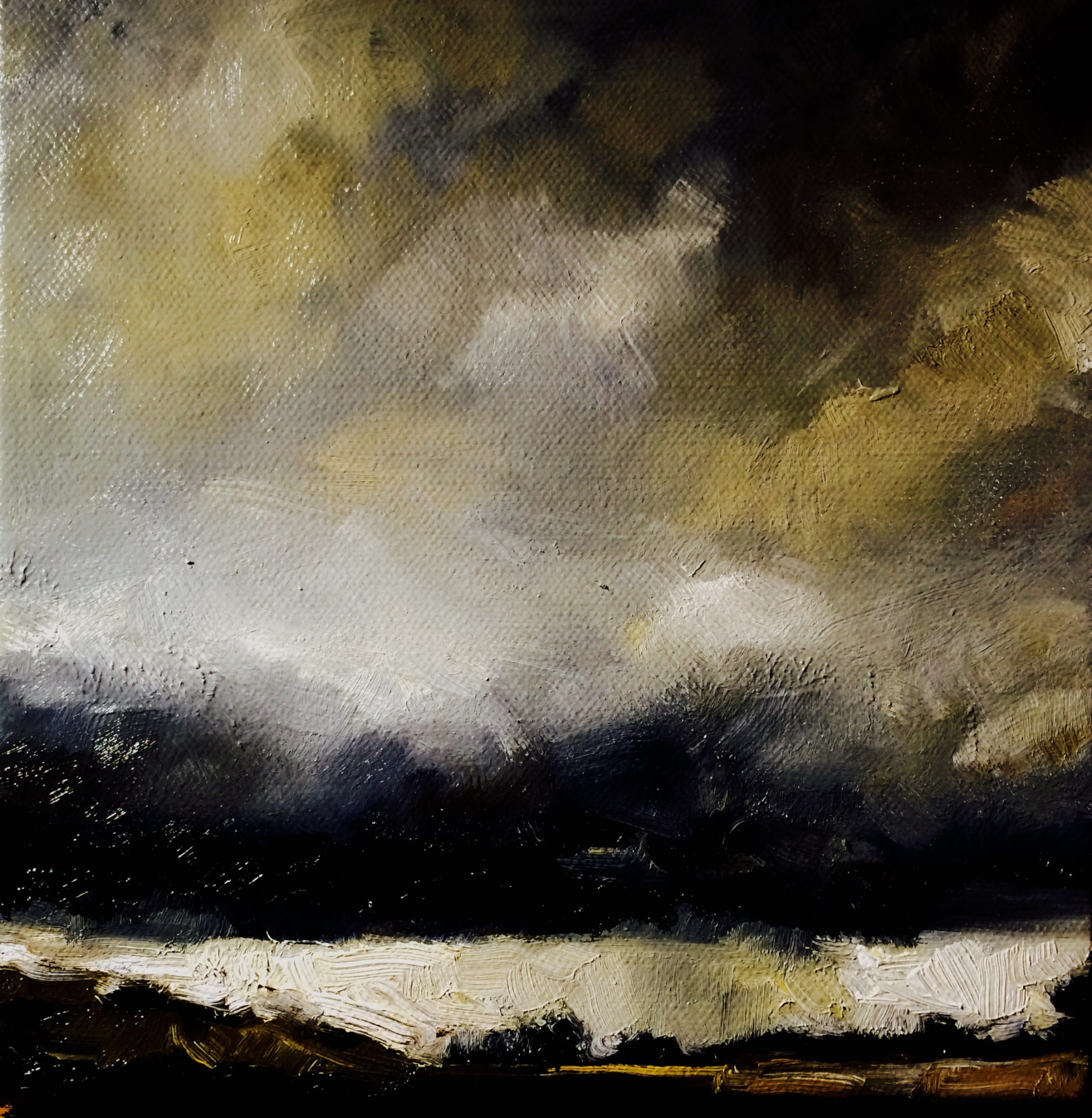 Storm Crossing the Tablelands (SOLD)