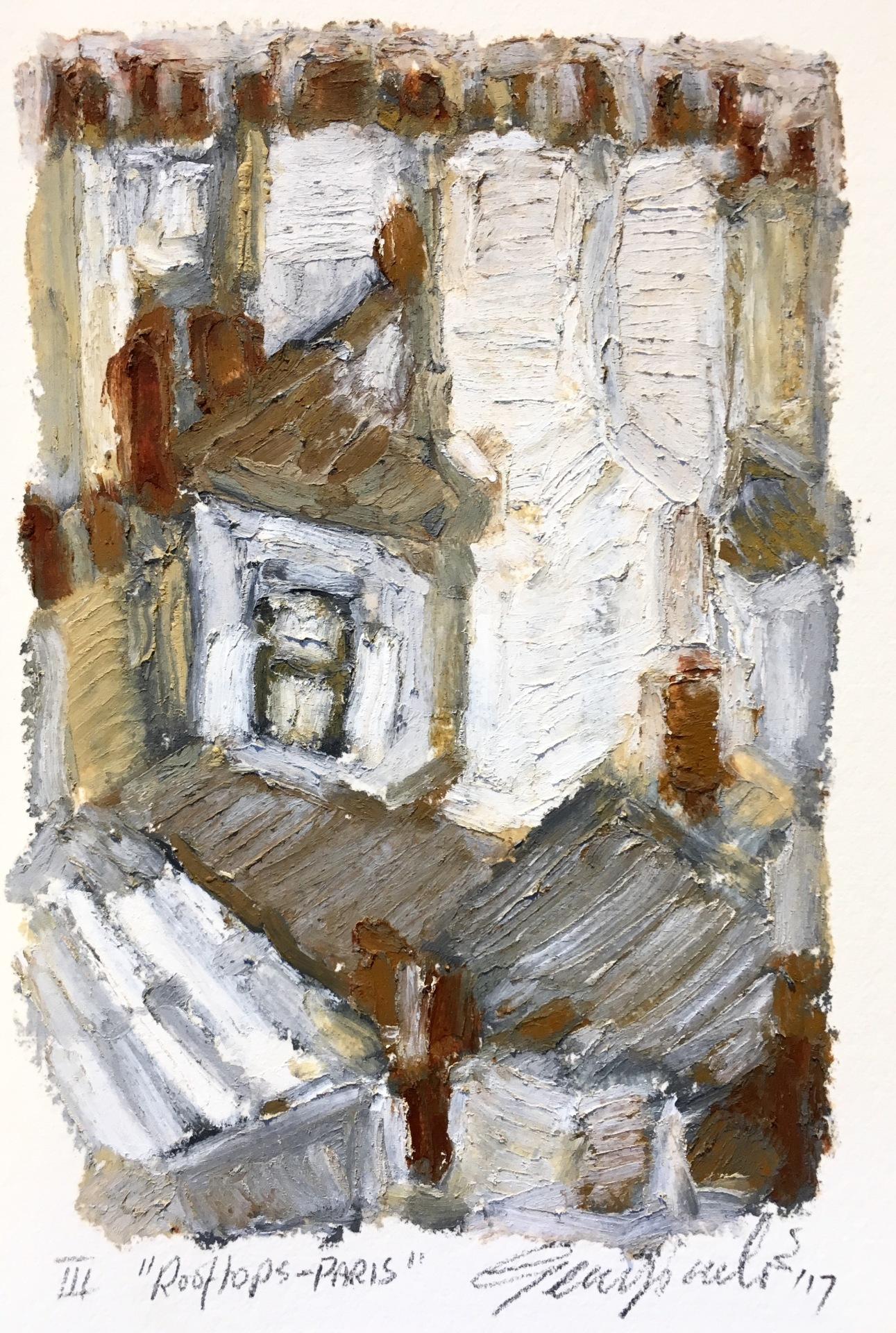 Rooftops Paris III (SOLD)