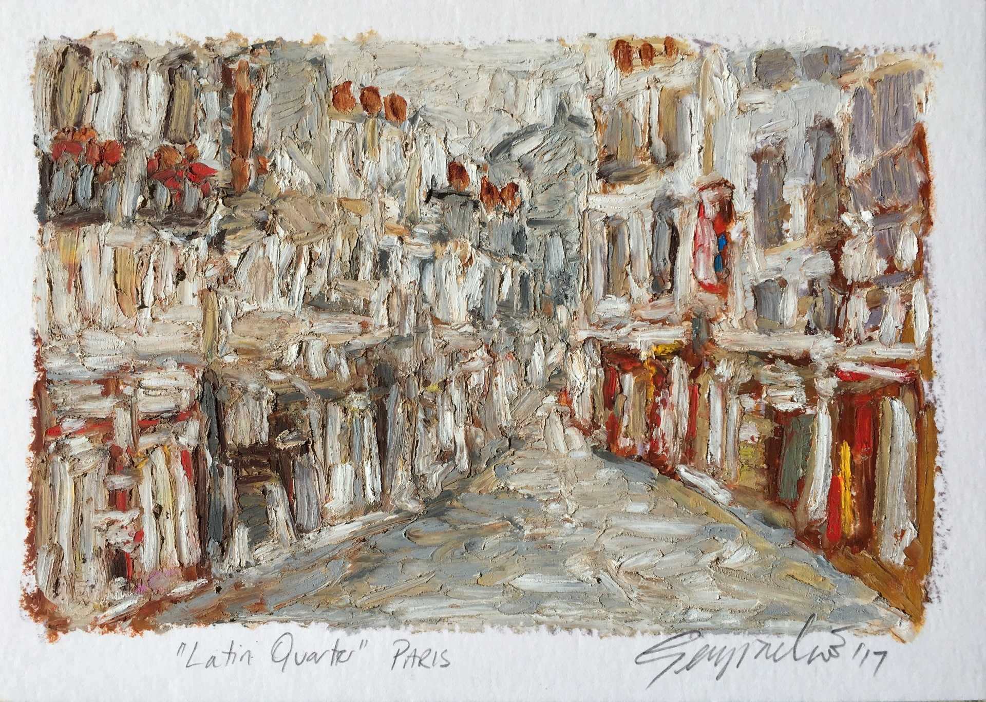 Jewish Quarter Paris (SOLD)