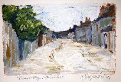 Barbizon Village (after Séailles) SOLD