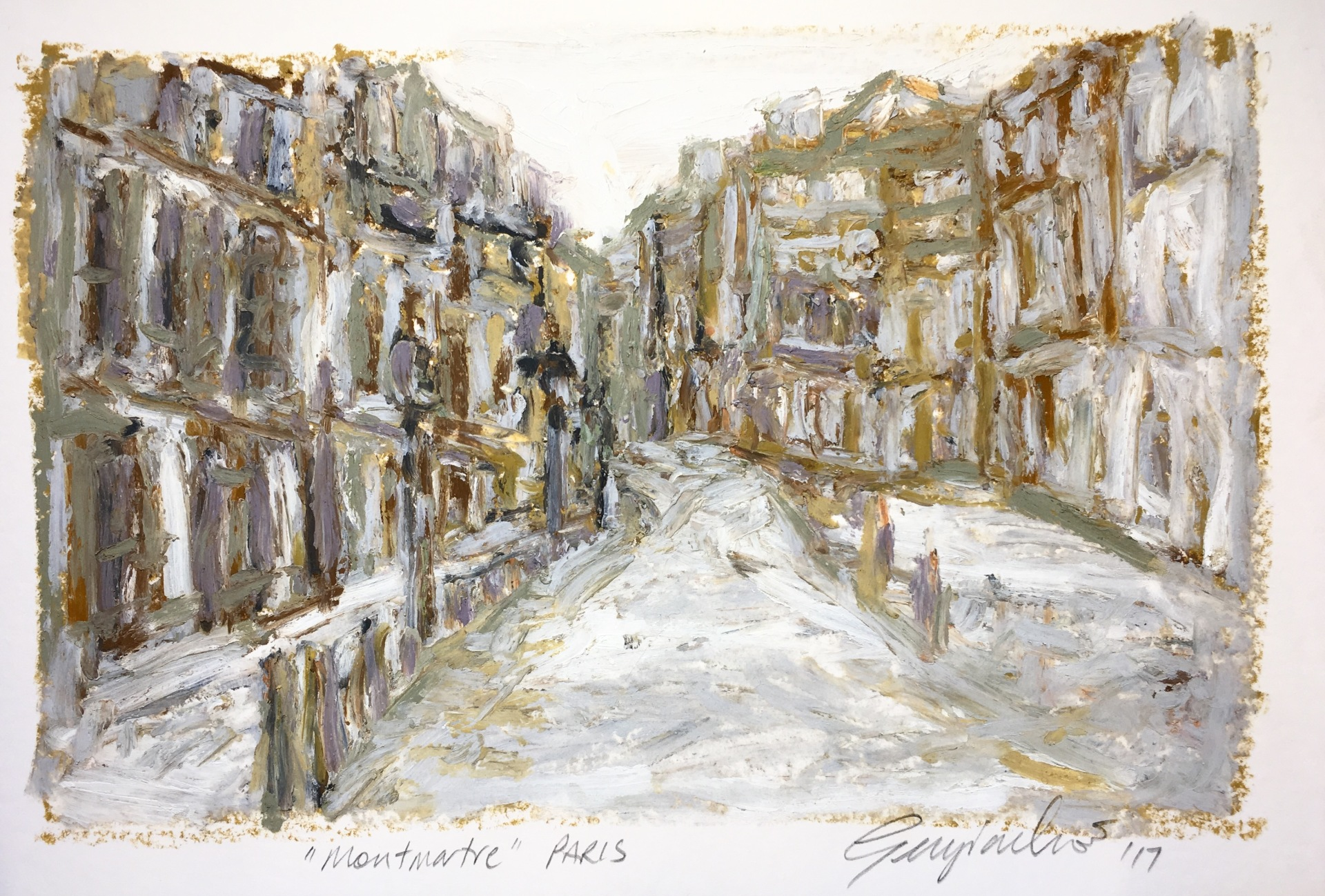 Montmartre Paris (SOLD)