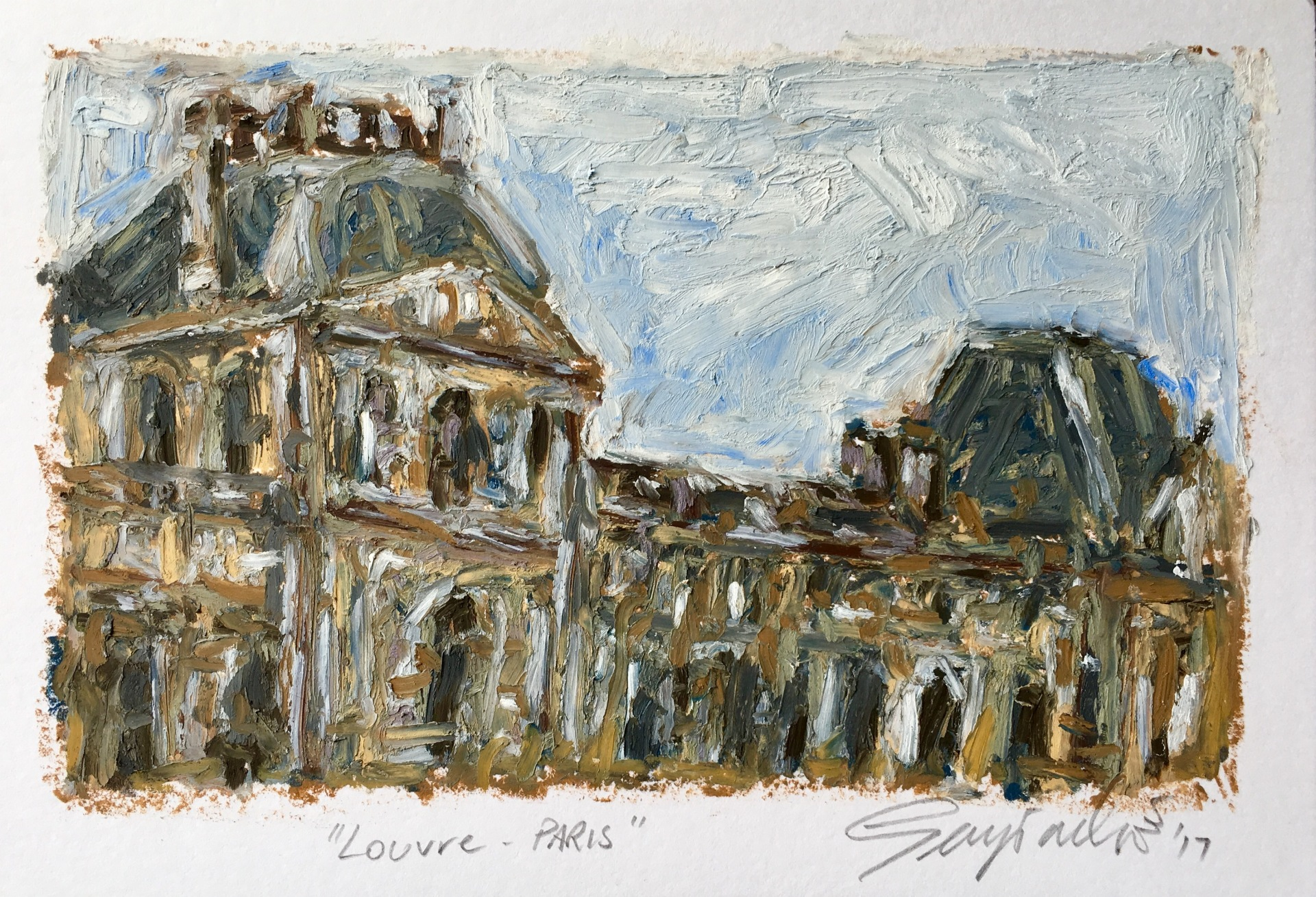 Louvre Paris (SOLD)