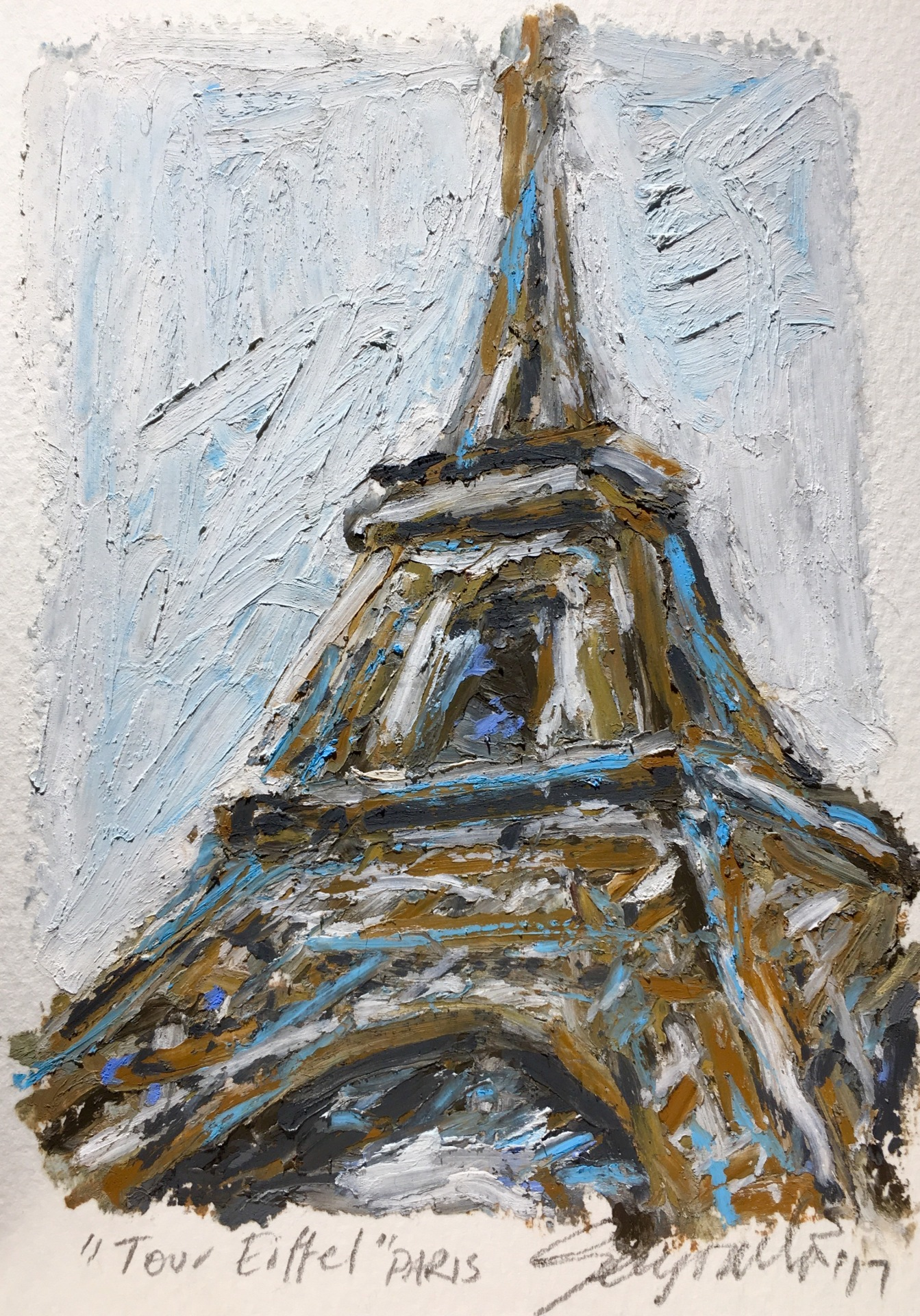 Tour Eiffel Paris (SOLD)