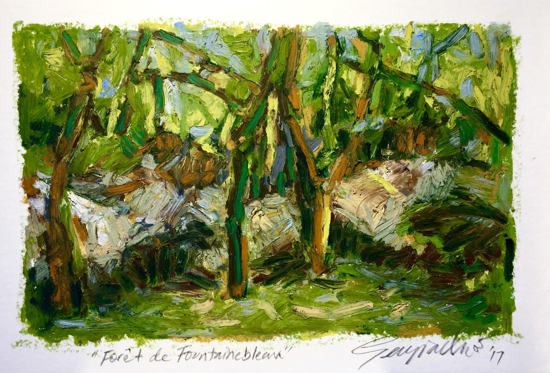 Forét de Fontainebleau (SOLD)