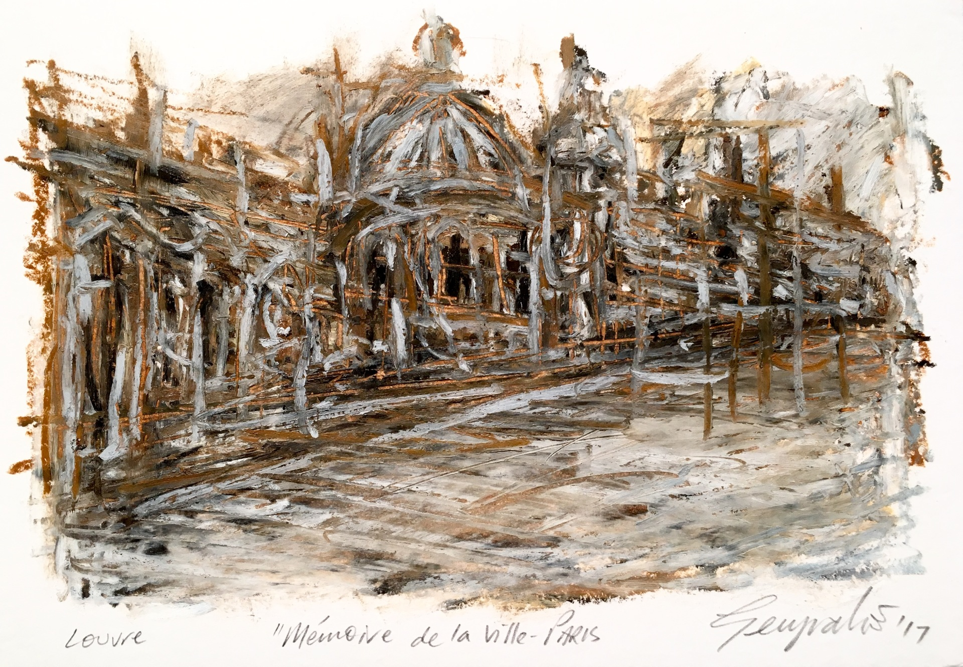 Mémoire de la Ville Paris Louvre