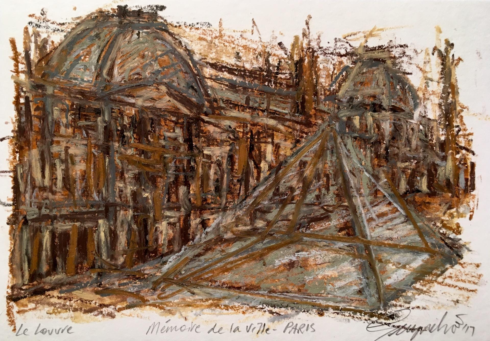 Mémoire de la ville Paris Le Louvre
