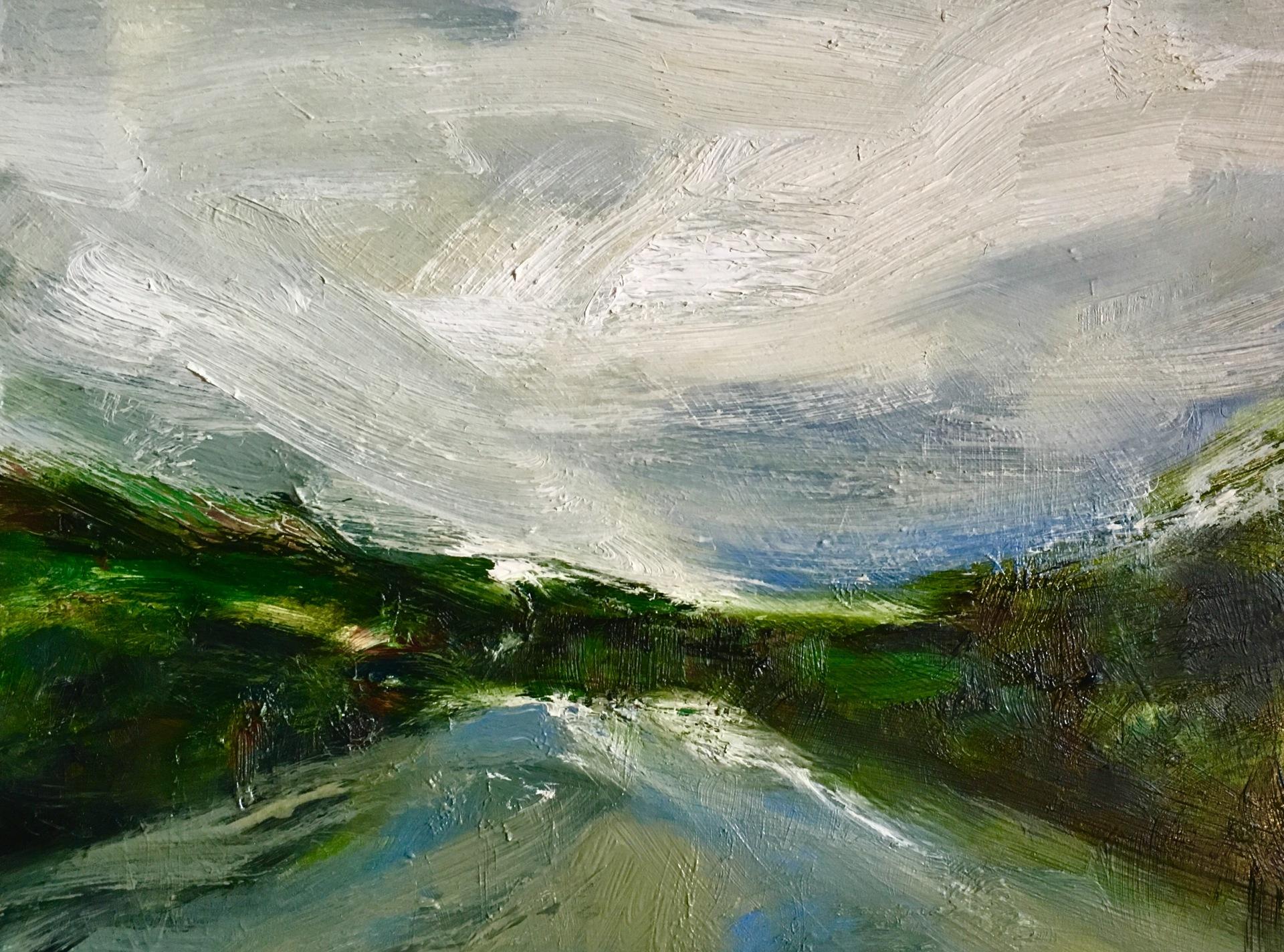 Horizon de la rivière (SOLD)