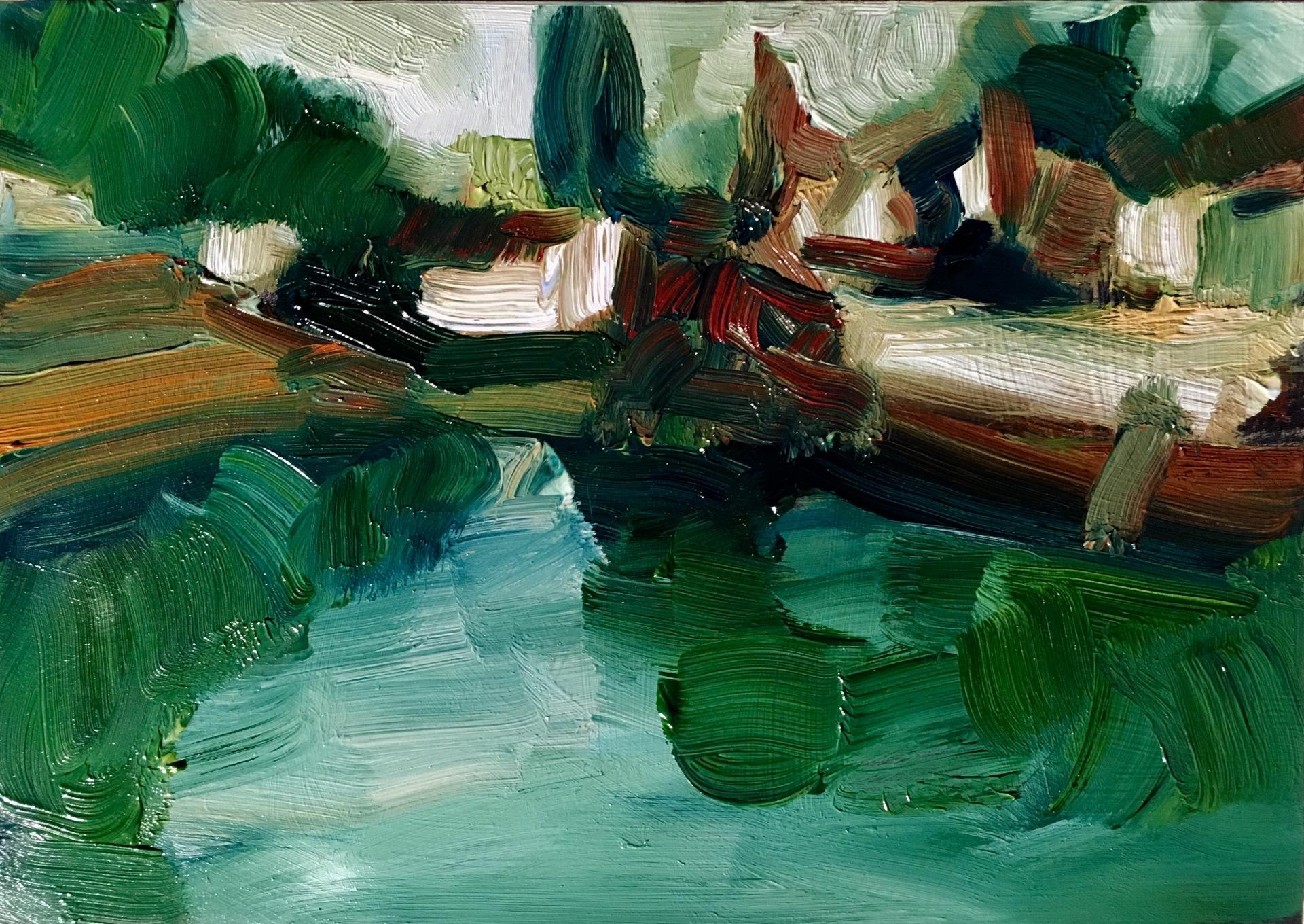 Across the River - Samois sur Seine (SOLD)