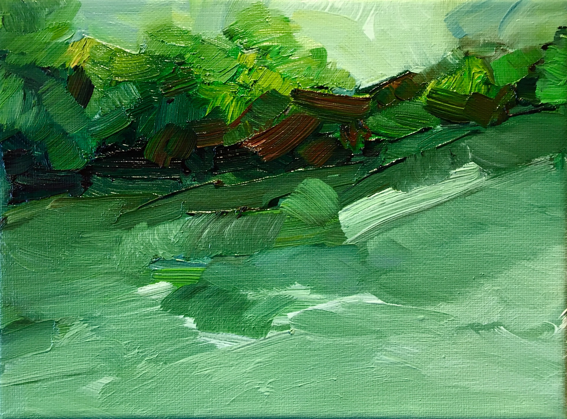 River Study - Héricy sur Seine