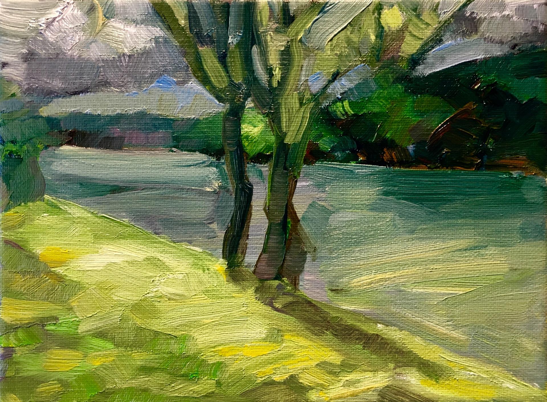 Study - View from Studio Héricy sur Seine