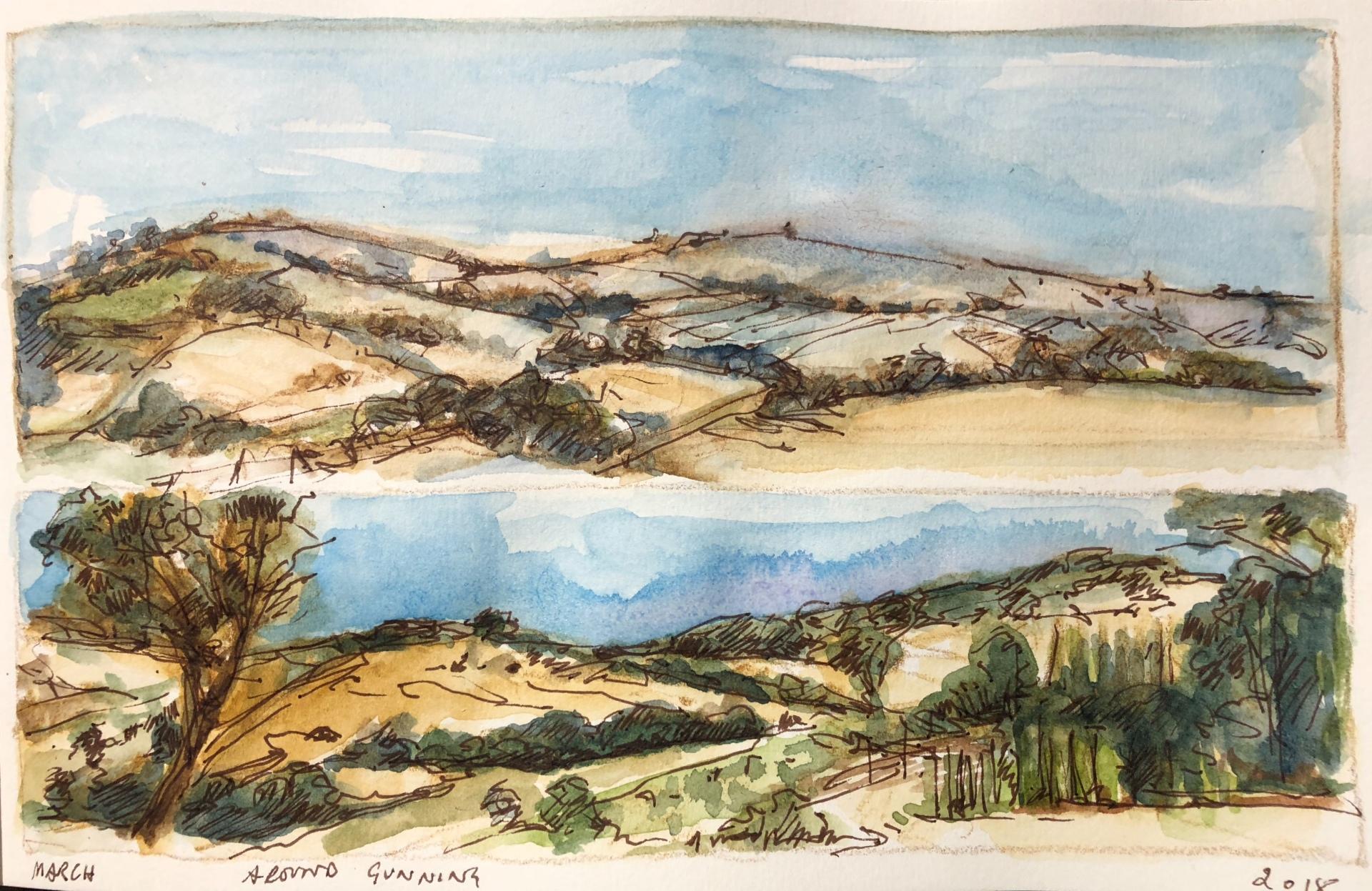 Gunning Landscape