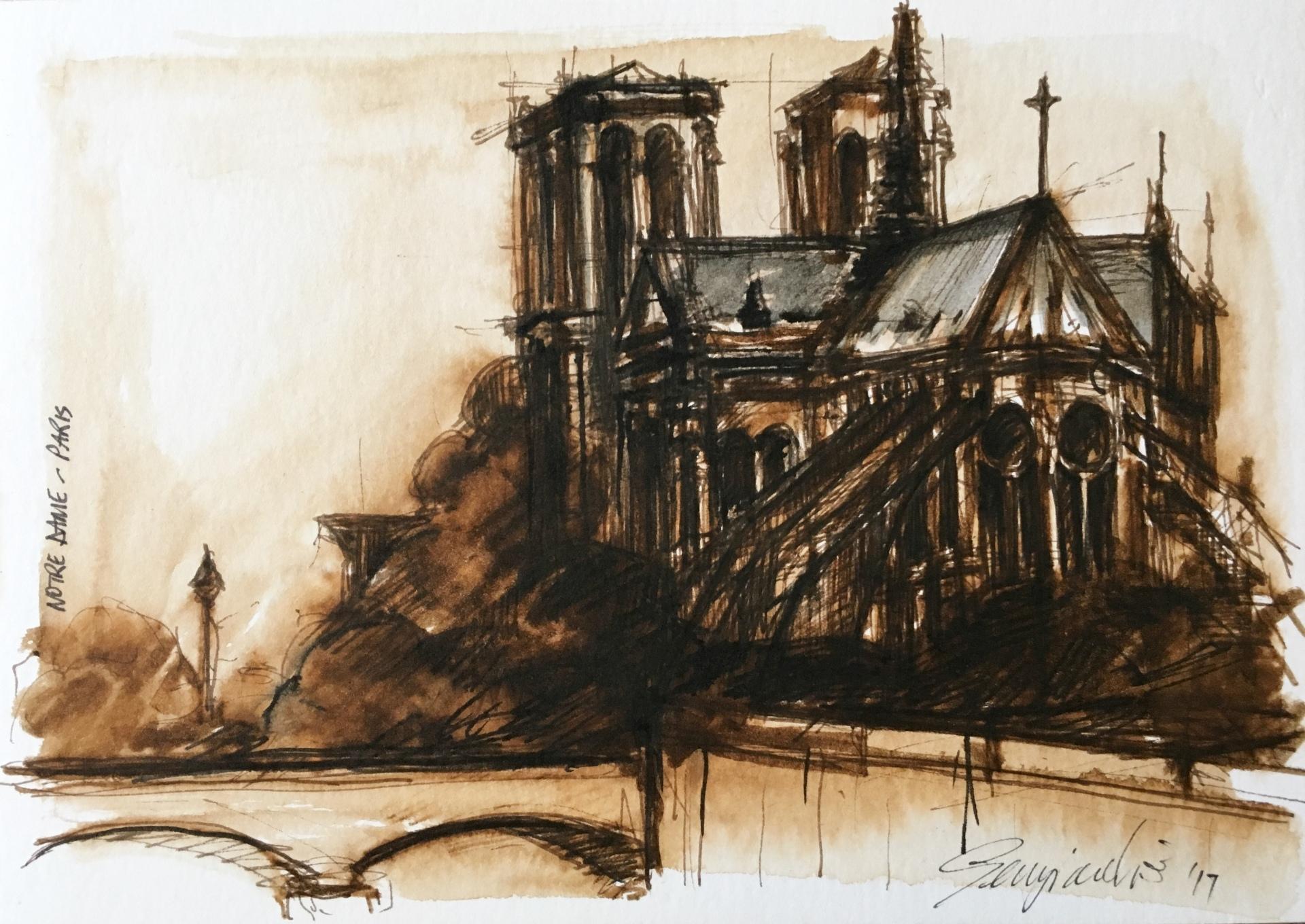 Notre Dame Paris (SOLD)