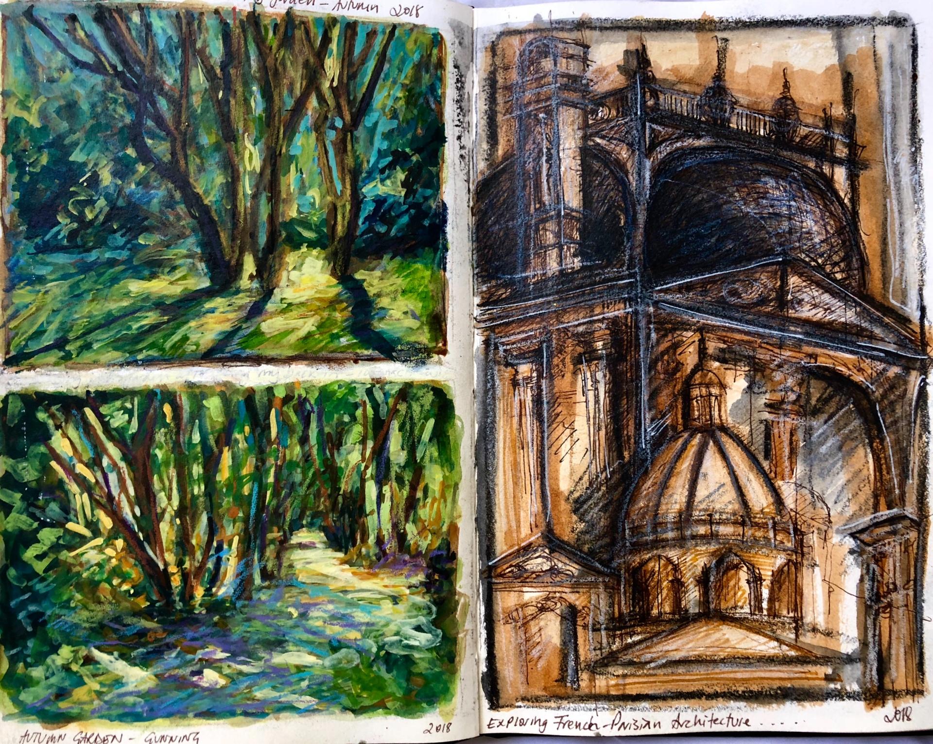 Garden & Paris