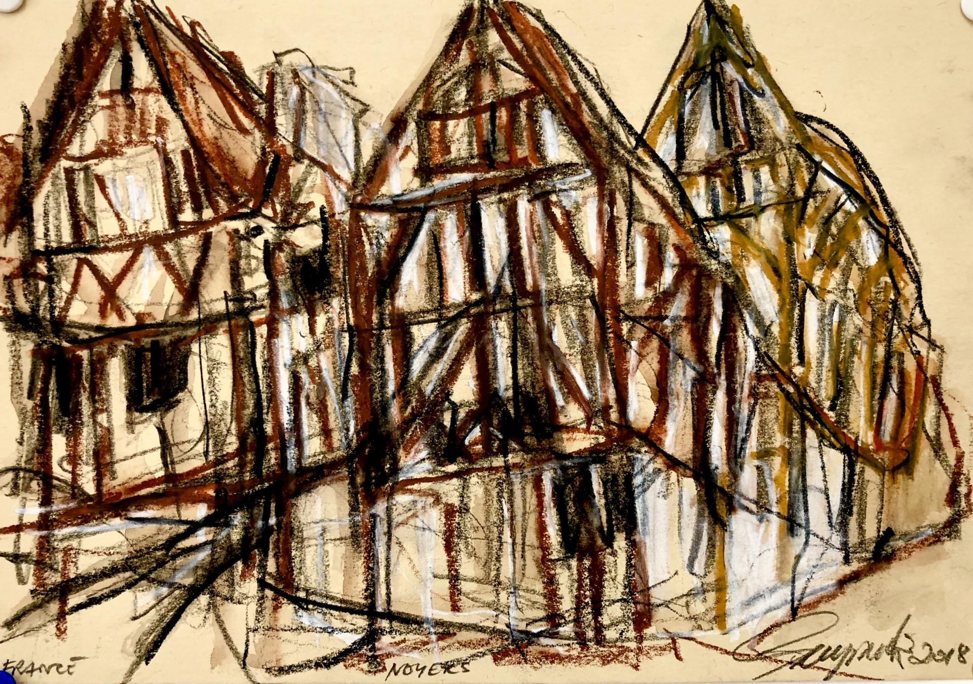 Medieval Buildings Noyers
