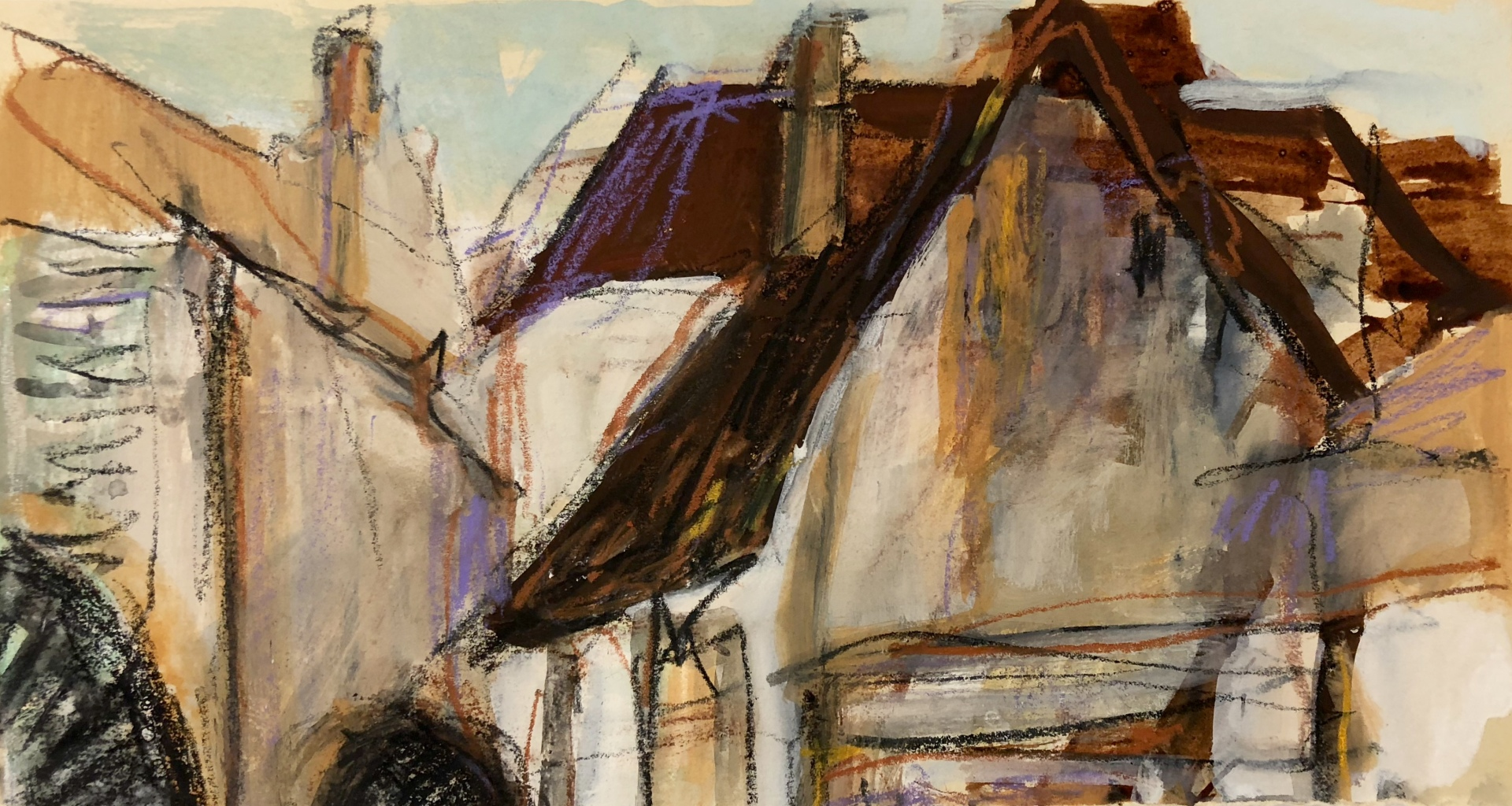Building Sketch Noyers