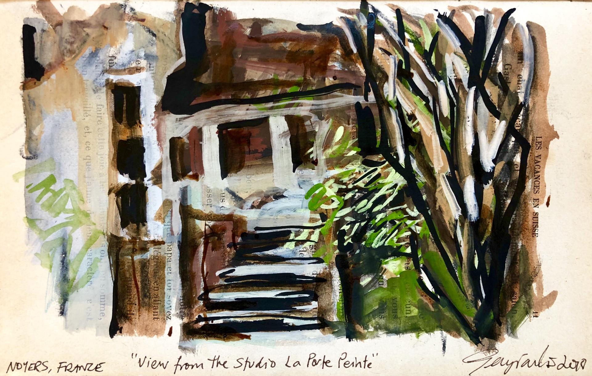 View from The Studio La Porte Peinte