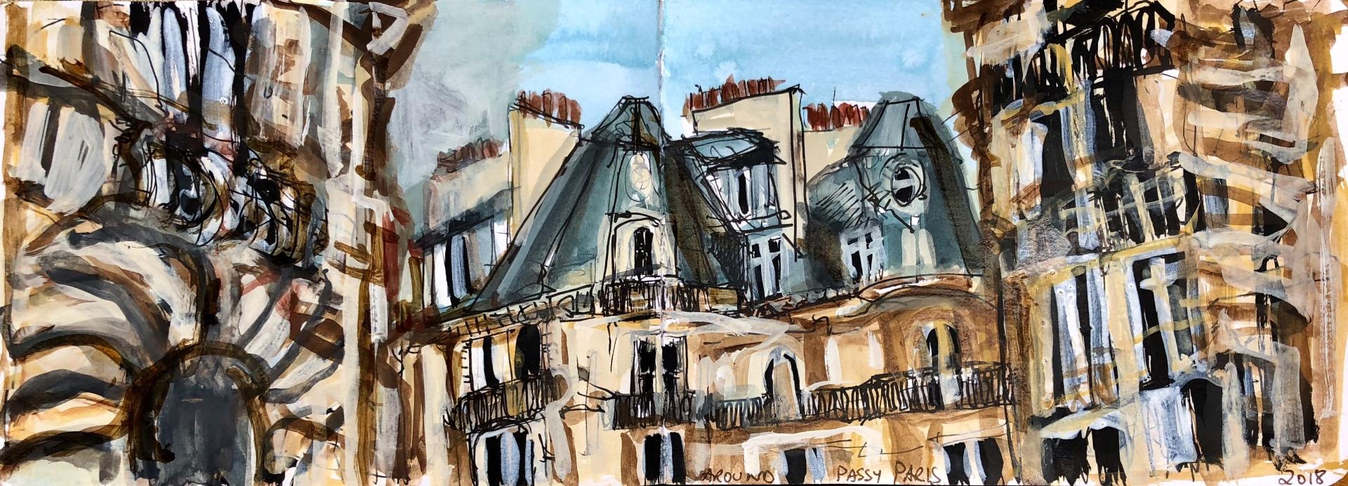 Around Passy Paris