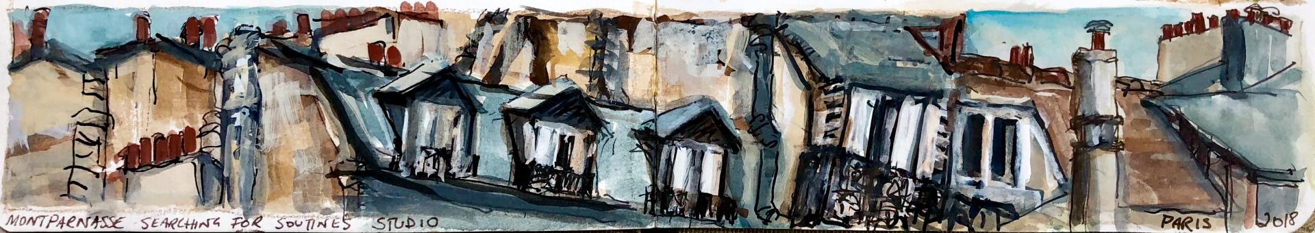 Searching for Soutine's Studio, Montparnasse